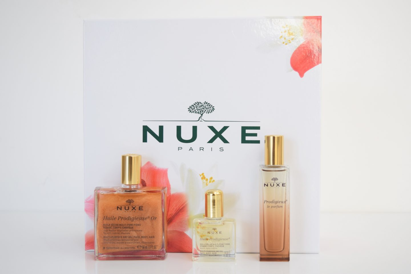 Review: Nuxe products | Avis: Produits Nuxe