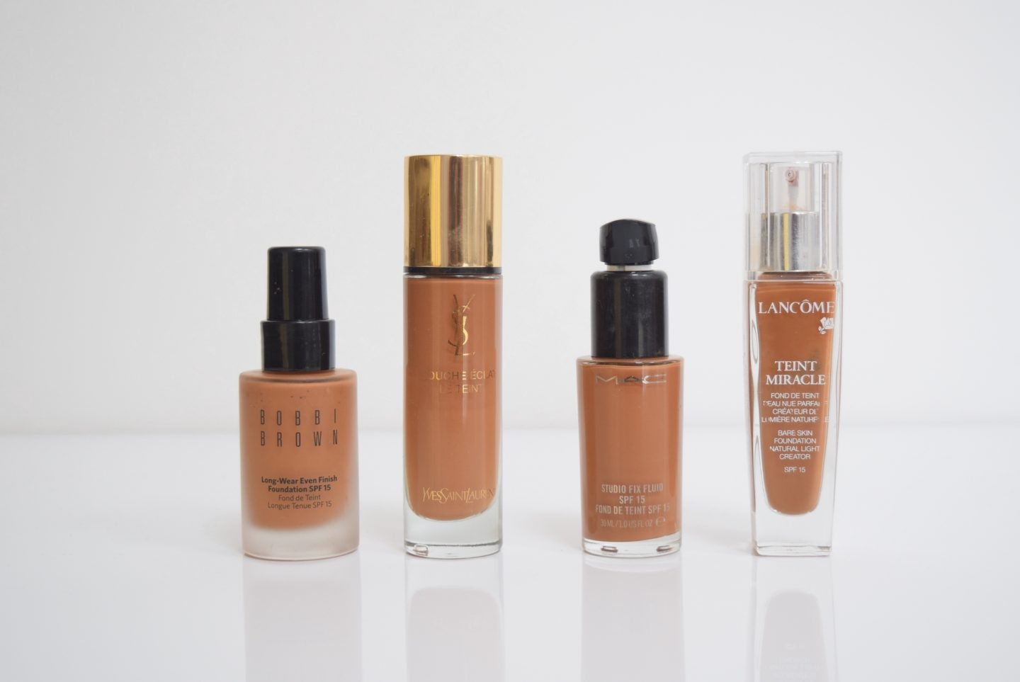 My foundation collection | Ma collection de fond de teint