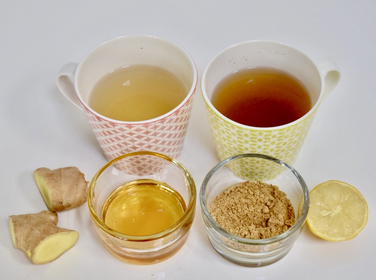 Recipe: Ginger & Lemon infusion | Recette: Infusion au gingembre et citron